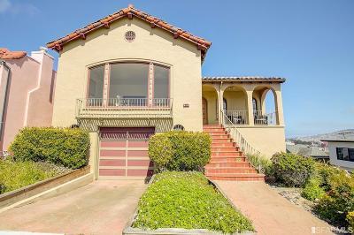 San Francisco Single Family Home For Sale: 985 Darien Way