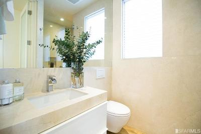 San Francisco Single Family Home For Sale: 537 A Greenwich St