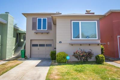 San Francisco Single Family Home For Sale: 76 Springfield Dr