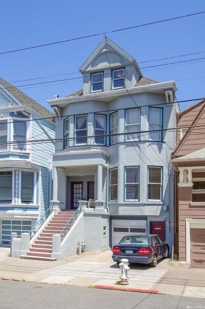 San Francisco Multi Family Home For Sale: 734 736 Cole St