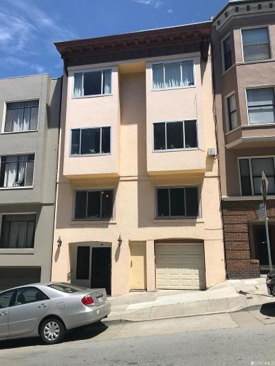 San Francisco Multi Family Home For Sale: 1440 Jones St