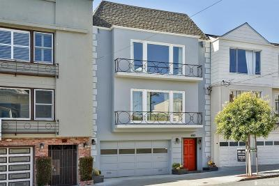 San Francisco CA Single Family Home For Sale: $5,900,000