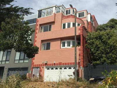 San Francisco Single Family Home For Sale: 2198 Funston Ave