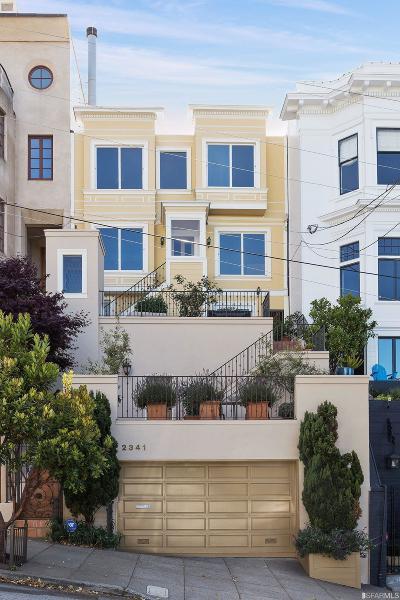 San Francisco Single Family Home For Sale: 2341 Leavenworth St