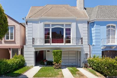 San Francisco Single Family Home For Sale: 175 Stanyan St