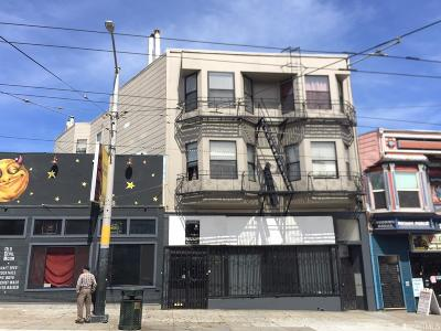 San Francisco Multi Family Home For Sale: 3468 3470 Mission St