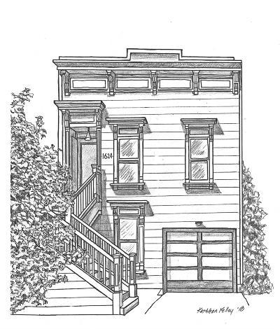 San Francisco Single Family Home For Sale: 1624 Alabama St