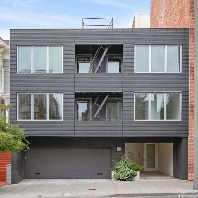 San Francisco Condo/Townhouse For Sale: 2364 Pacific Ave #2