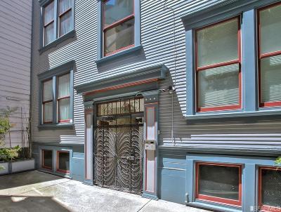 San Francisco Condo/Townhouse For Sale: 744 Union St #3