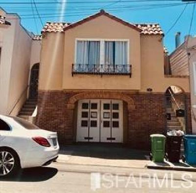 San Francisco Single Family Home For Sale: 73 Norton St
