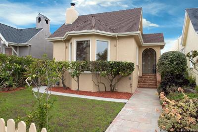 San Francisco Single Family Home For Sale: 1983 17th Ave