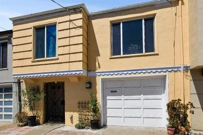 San Francisco Single Family Home For Sale: 2683 47th Ave
