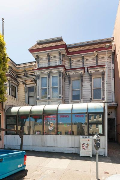 San Francisco Multi Family Home For Sale: 2739 Geary Blvd