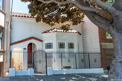 San Francisco Multi Family Home For Sale: 237 Sanchez St