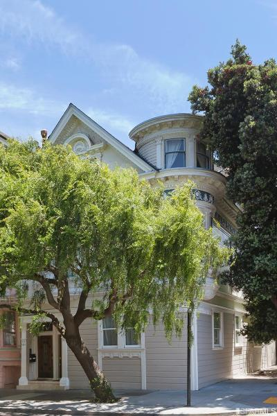San Francisco Multi Family Home For Sale: 539 41 Waller St