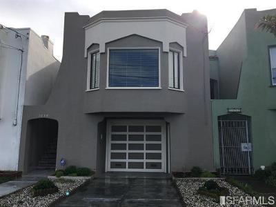 San Francisco Single Family Home For Sale: 1638 28th Ave