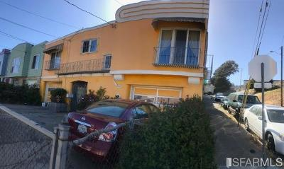 San Francisco Single Family Home Act Cont Short Sale: 202 Santos St
