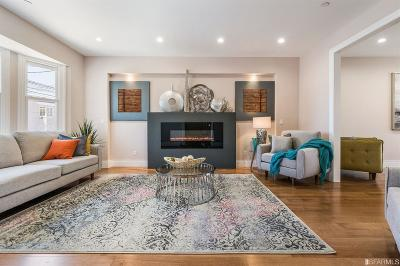 San Francisco Single Family Home For Sale: 1314 16th Ave