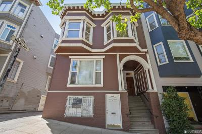 San Francisco Multi Family Home For Sale: 2633 2637 Hyde St
