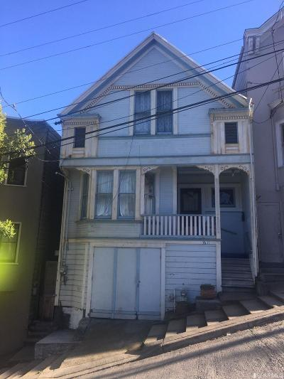 San Francisco Single Family Home For Sale: 3611 22nd St