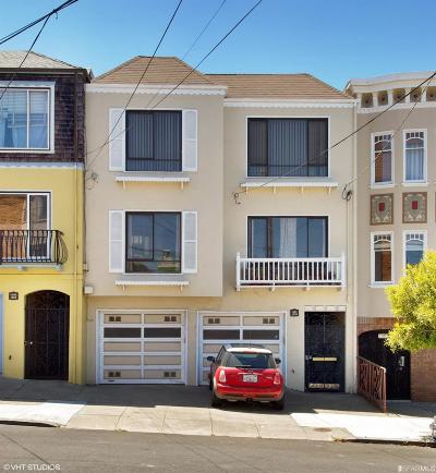 San Francisco Multi Family Home For Sale: 1379 1381 27th Ave