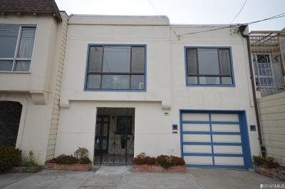 San Francisco Single Family Home Act Cont Show: 2631 46th Ave
