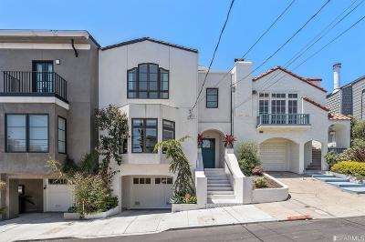 San Francisco Single Family Home For Sale: 492 Douglass St