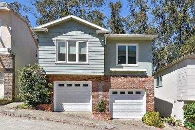 San Francisco Single Family Home For Sale: 309 Warren Dr