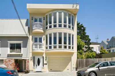 San Francisco Single Family Home For Sale: 1478 1480 12th Ave