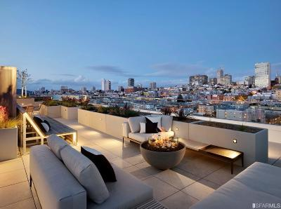 San Francisco Condo/Townhouse For Sale: 1545 Pine St #605