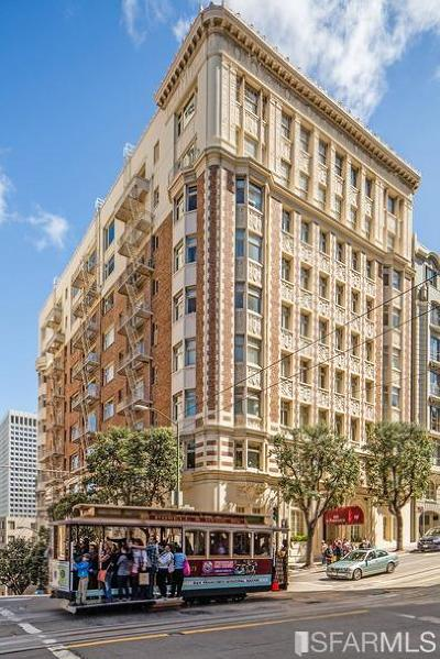 San Francisco Condo/Townhouse For Sale: 850 Powell St #502