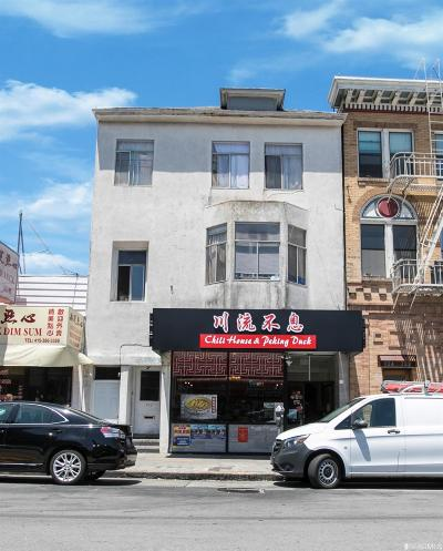 San Francisco Multi Family Home For Sale: 726 728 Clement St