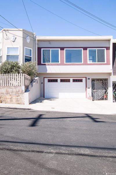 San Francisco Single Family Home For Sale: 318 Raymond Ave