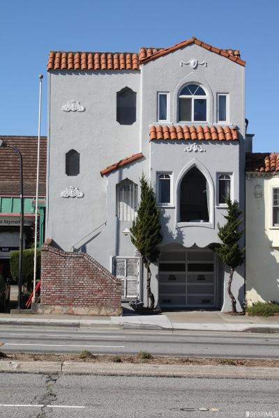 San Francisco Multi Family Home For Sale: 2083 2085 19th Ave