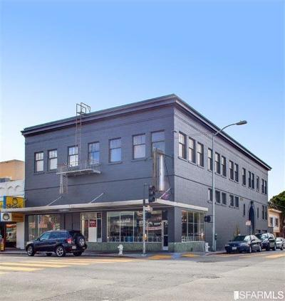 San Francisco Multi Family Home For Sale: 4500 Mission St