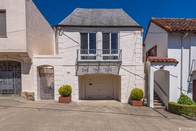 San Francisco Single Family Home For Sale: 726 30th Ave