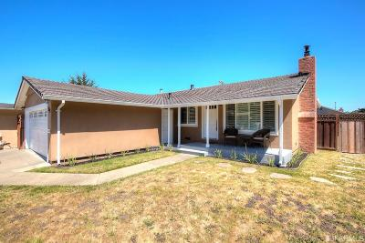 San Bruno Single Family Home For Sale: 401 Fernwood Dr