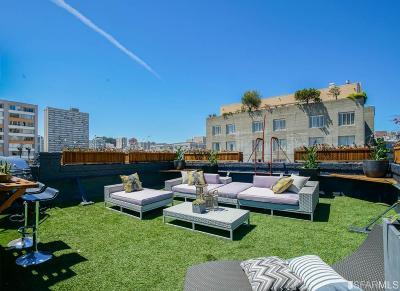 San Francisco Condo/Townhouse For Sale: 1264 Bush St #5