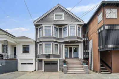 San Francisco Multi Family Home Act Cont Show: 535 537 5th Ave