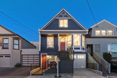 San Francisco Single Family Home For Sale: 347 Lisbon St
