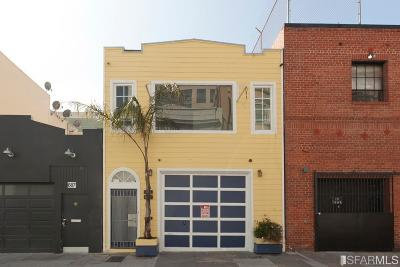 San Francisco Single Family Home For Sale: 689 691 Minna St