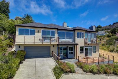Marin County Single Family Home For Sale: 6 Via Paraiso West