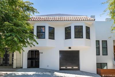 San Francisco Single Family Home For Sale: 114 Virginia Ave