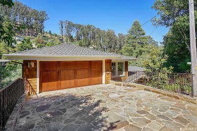 Marin County Single Family Home For Sale: 452 Laverne Ave
