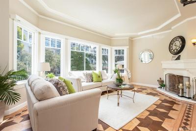 San Francisco Single Family Home For Sale: 972 Carolina St