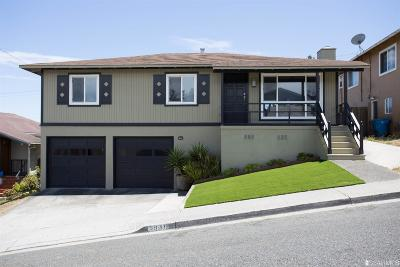 San Bruno Single Family Home For Sale: 3031 Summit Rd
