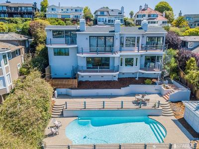 Marin County Single Family Home For Sale: 46 Topside Way