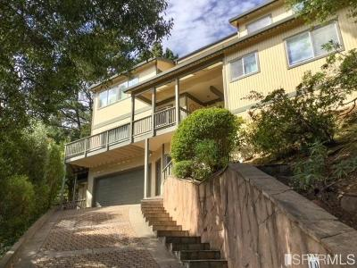 Marin County Single Family Home For Sale: 19 Sunrise Ave