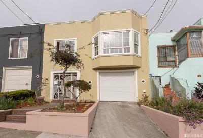 San Francisco Single Family Home For Sale: 30 Beverly St