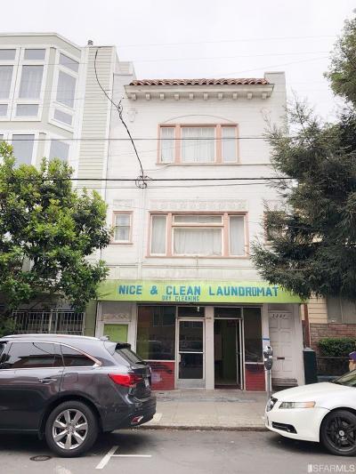 San Francisco CA Multi Family Home For Sale: $1,880,000